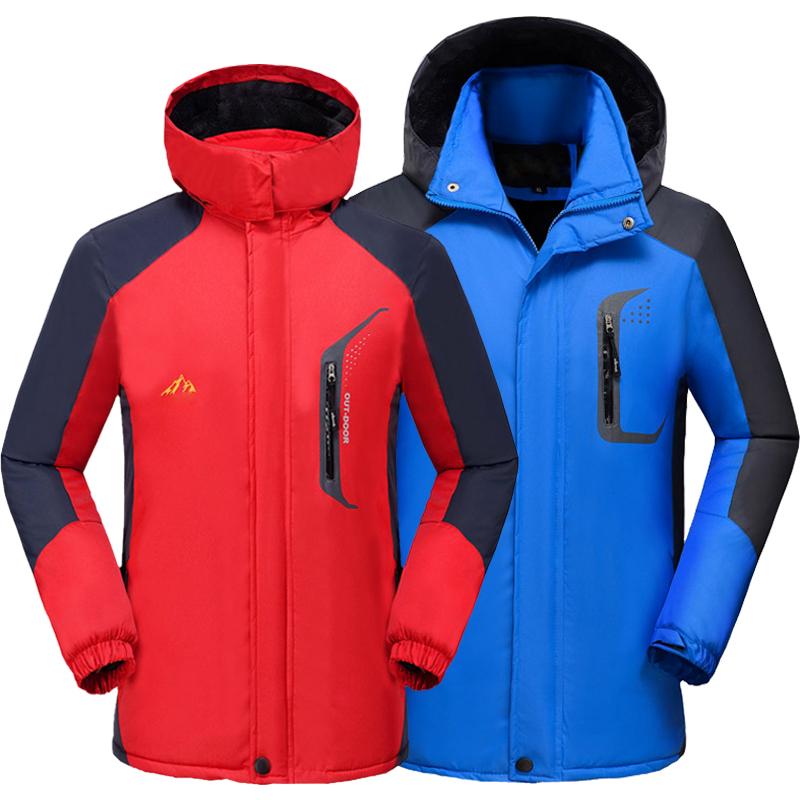 Зимний новая коллекция Спортивный альпинизм мужской стиль Наружная одежда корейская версия для отдыха Холодная защита хлопок одежда куртка верх Прилив одежды