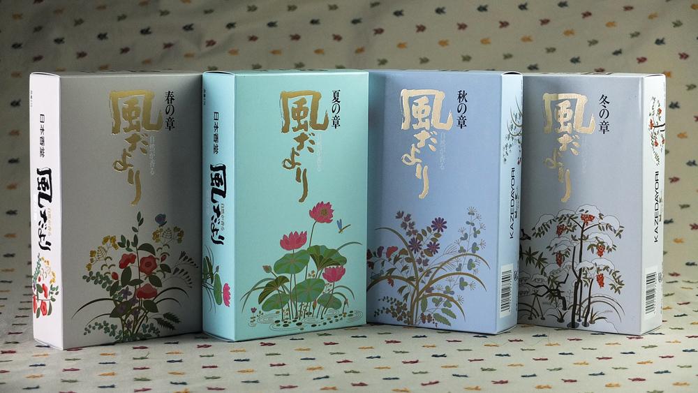 日本 风的故事线香熏香赏味分装/10根1包/4味可选/