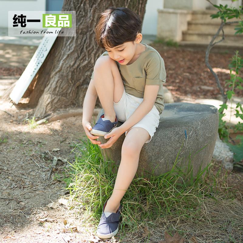 男童小童兒童純色打底衫
