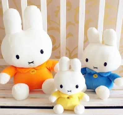 12月03日最新优惠可爱米菲兔子公仔毛绒玩具玩偶布娃娃七夕礼兔子地推公仔包邮