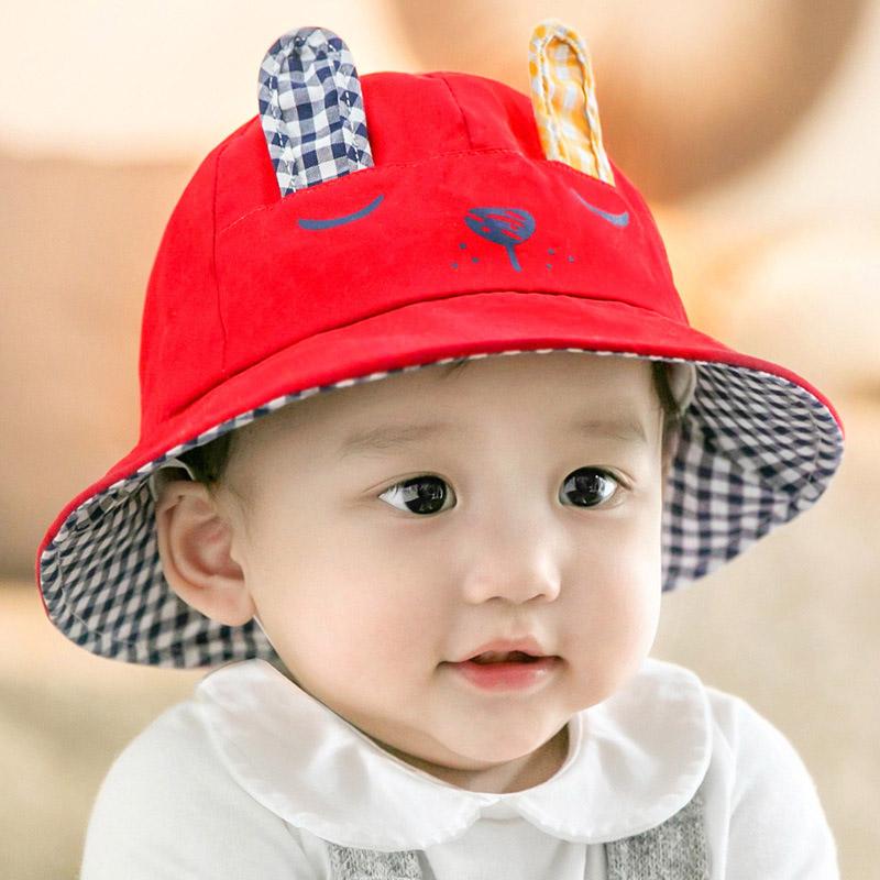 春秋純棉嬰兒兒童包郵盆帽