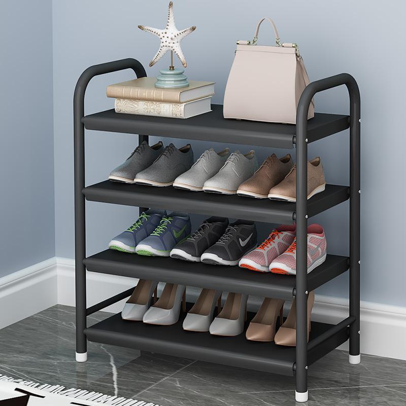 简易鞋架子家用经济型放小门口防尘收纳神器宿舍室内好看多层鞋柜