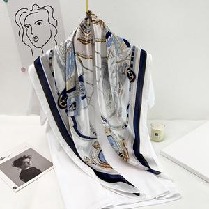 韩版90cm洋气装饰夏季防晒小丝巾