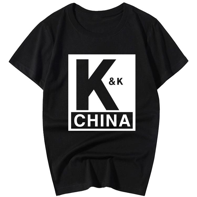 李现同款短袖韩商言K&K战队服吴白T恤亲爱的热爱的杨紫同款KK队服热销6件买三送一