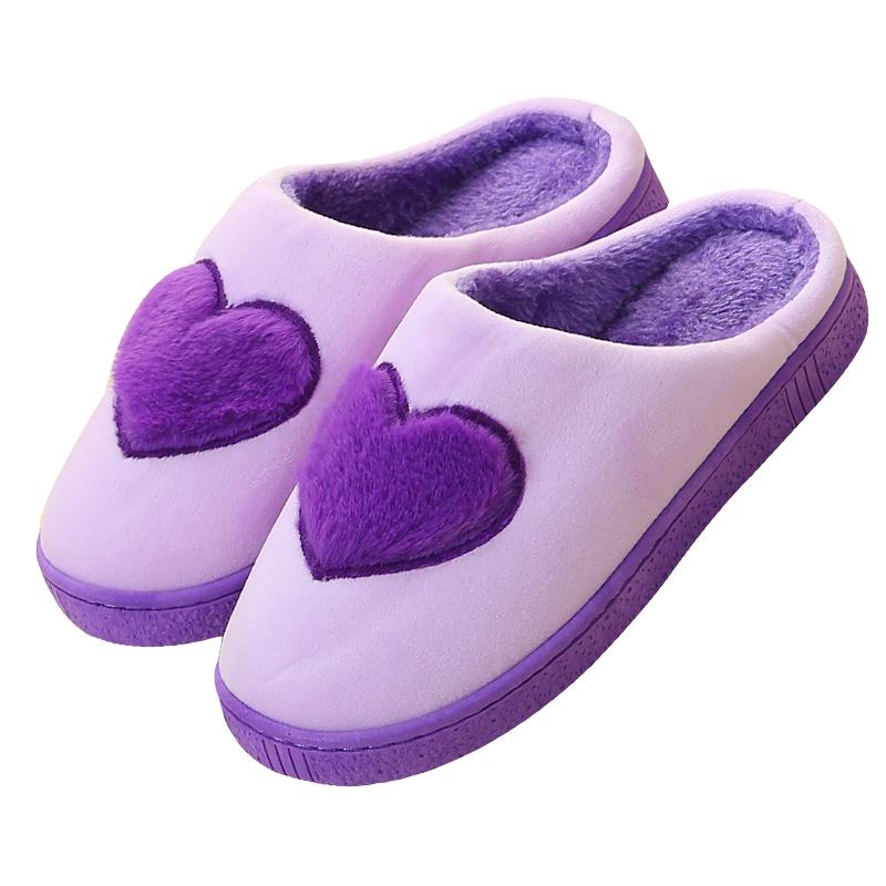 棉拖鞋女冬季厚底居家保暖防滑卡通可爱韩版包跟月子鞋毛拖鞋