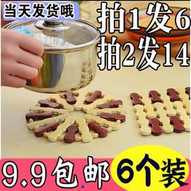 隔热垫餐桌家用防烫竹子锅餐垫底卓耐热碟菜碟餐垫子盘子碗砂锅竹
