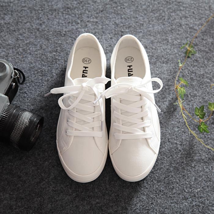 环球小白鞋百搭秋款女鞋学生帆布潮鞋女韩版2019秋季新款平底布鞋