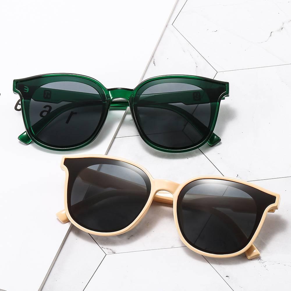 タオバオ仕入れ代行-ibuy99|太阳镜|2021新款潮女大脸显瘦网红黑色墨镜复古港风时尚潮街拍个太阳镜