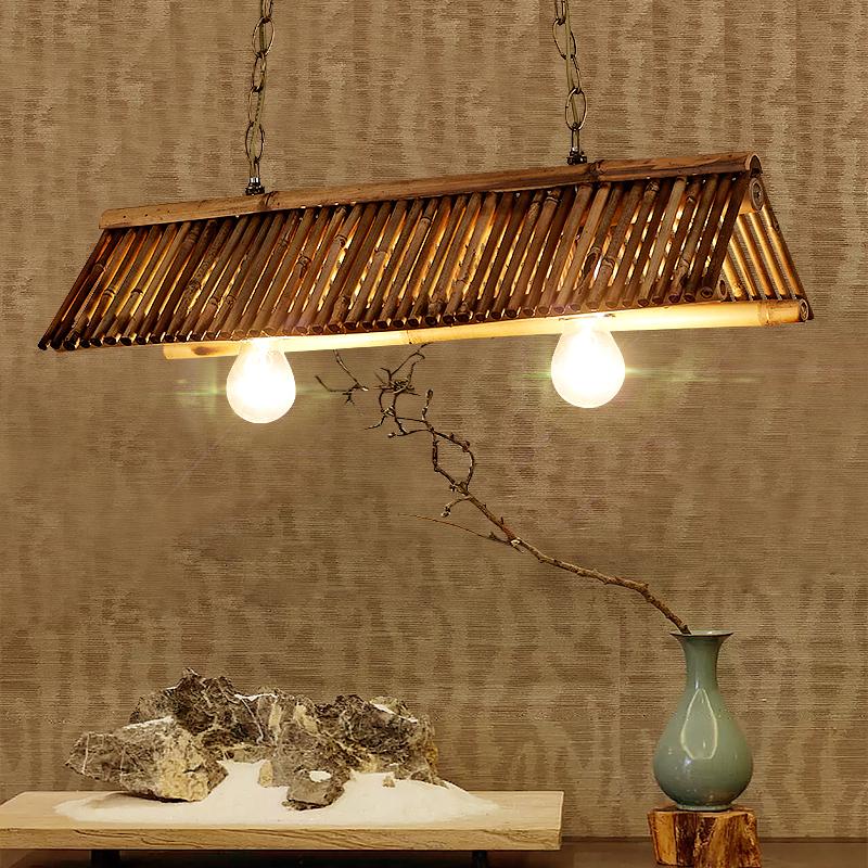 定做现代中式布艺灯笼吊灯 手绘圆形古典茶楼火锅店餐厅工程吊灯-升图中式