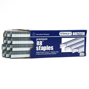 包邮 STANLEY史丹利2115强又韧B8订书钉B8订书针拱形B8针 满10盒