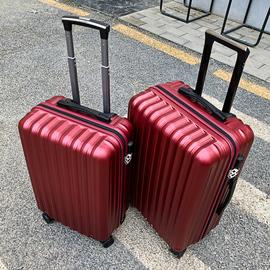 红色结婚行李箱陪嫁箱女拉杆箱皮箱新娘嫁妆箱婚礼密码箱登机箱男