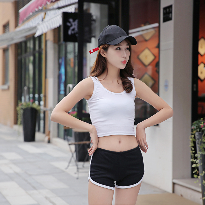 2019 parcel mail summer womens shorts home cotton thin hot pants summer wear loose leisure sports pants