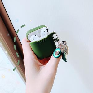 airpods保护套airpods2代无线蓝牙苹果耳机套ipod壳套二充电盒子入耳式耳塞套硅胶通用配件防丢绳ins卡通可爱