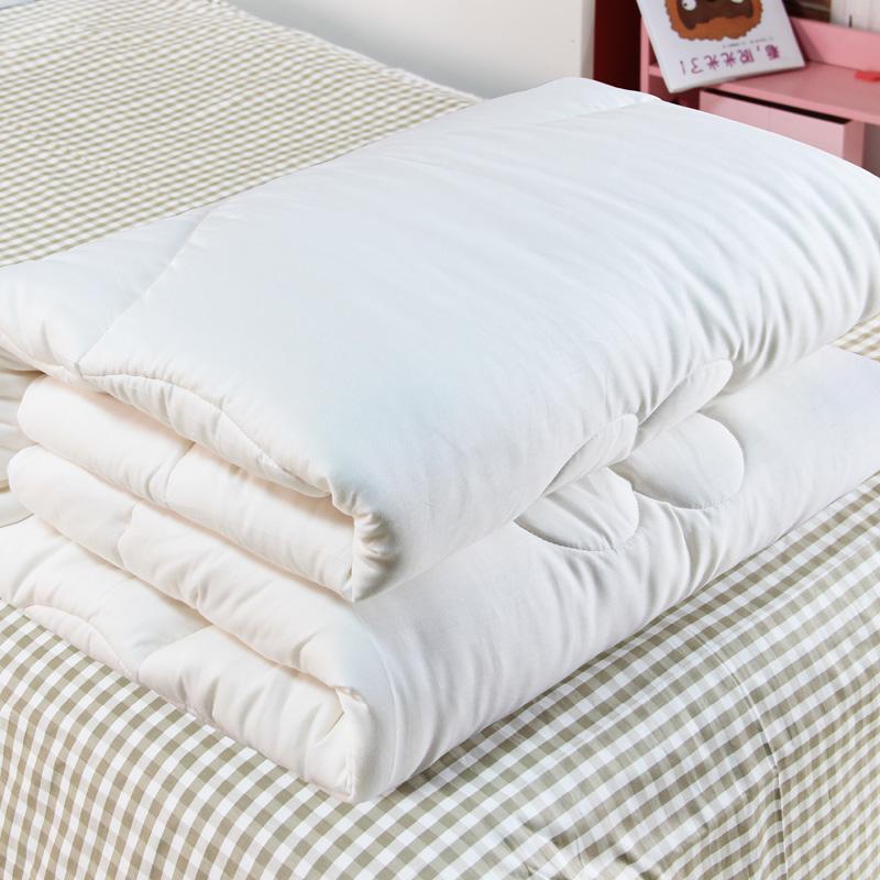 棉花被新疆棉被被子冬被全棉棉絮褥子加厚单人双人春秋纯棉垫被芯