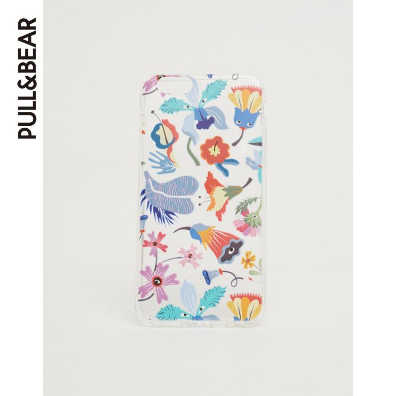 PullAndBear мужской цветы печать корпус телефона 05970511