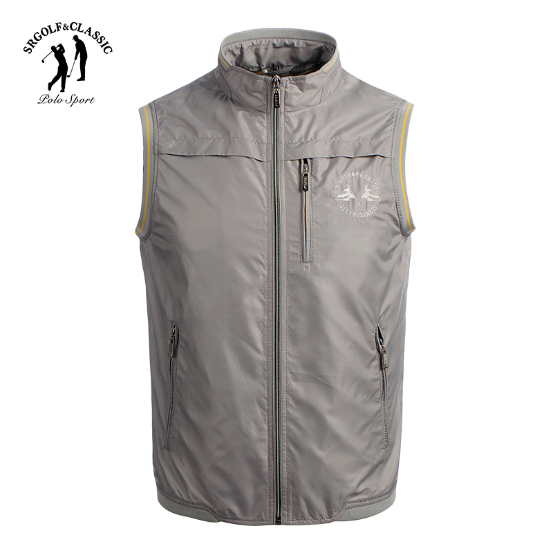 S.R.GOLF counters with the same spring and autumn new Lilie waistcoat, thin waistcoat, men's fashion waistcoat