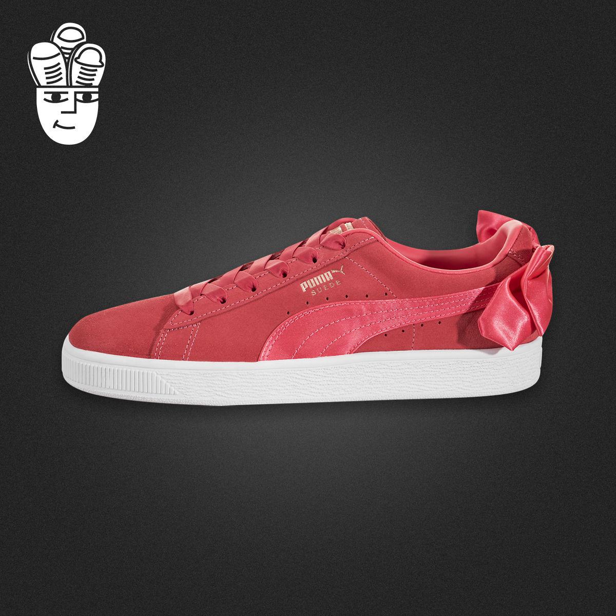 五折促销Puma Suede Bow 彪马女鞋 后跟蝴蝶结板鞋休闲鞋 娜扎同款