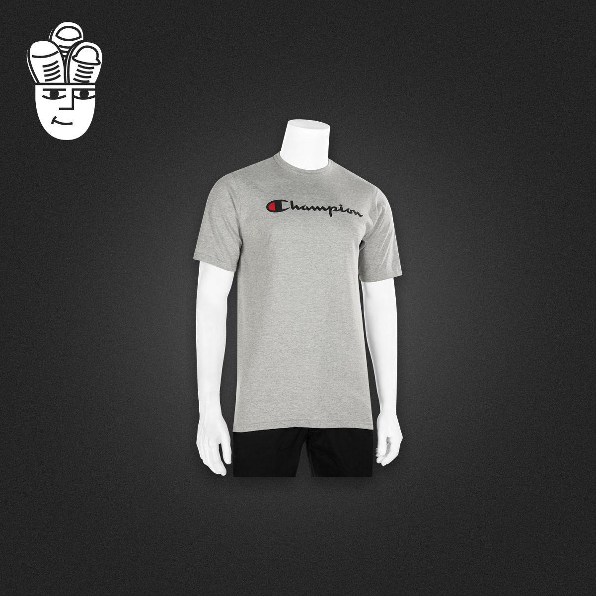 Champion Life Graphic T-Shirt 男子运动休闲T恤衫 字母logo短袖