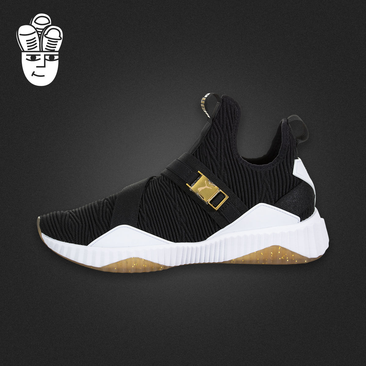 Puma Defy Mid Varsity 彪马女子中帮篮球鞋 舒适透气运动鞋