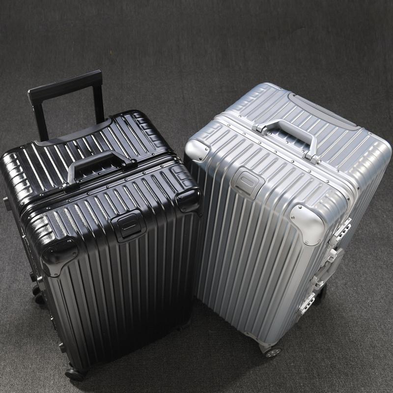 Vinsonpaul / Vinson Paul large capacity travel suitcase 32 inch aluminum frame universal wheel large Trolley Case