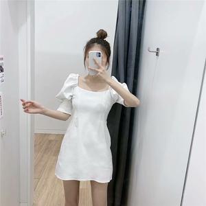 2020夏季新款 ZA家女士 法式小众蓬蓬袖连衣裙 2658/312 2658312