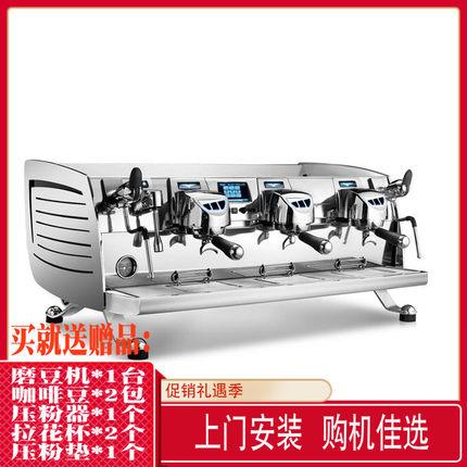 Nuova诺瓦黑鹰BLACK EAGLE VA388三头双头电控半自动咖啡机商用