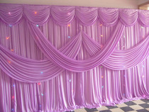 June Sail Hundred Years wedding yarn naaman wedding yarn mantle wedding background stage wedding layout