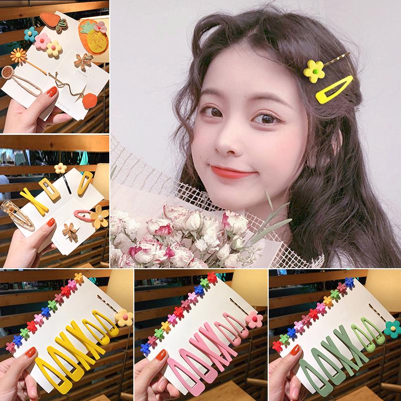 韩国泫雅发夹女刘海夹发卡可爱少女边夹小网红夹子头饰卡子风日系6.99元包邮