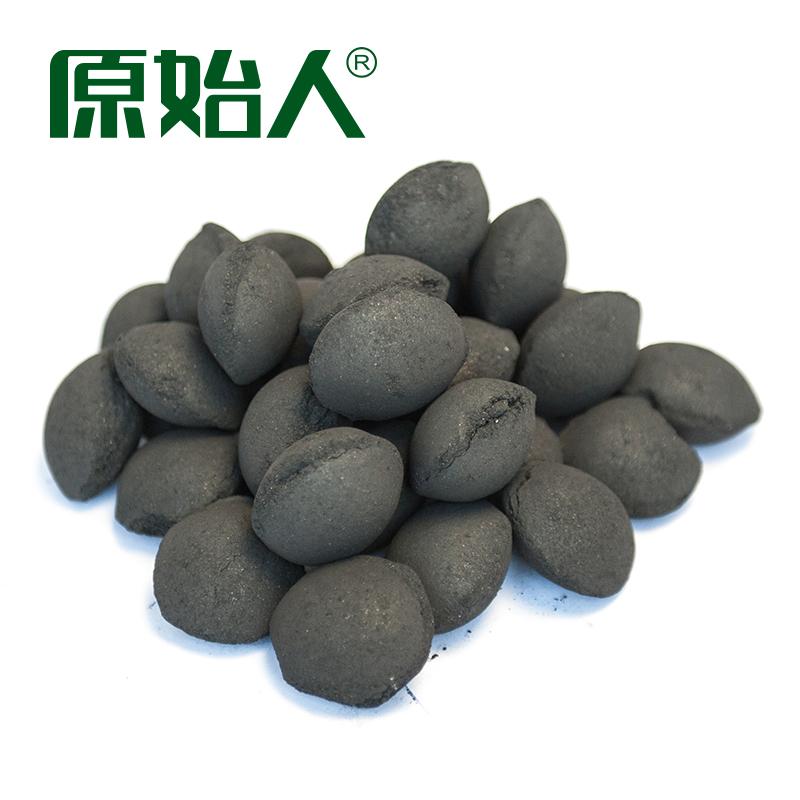 原始人 烧烤配件 烧烤工具 果木炭 竹木碳 球形机制炭