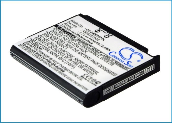 CameronSino适用三星SGH-E950 SGH-E958手机电池AB653039CE