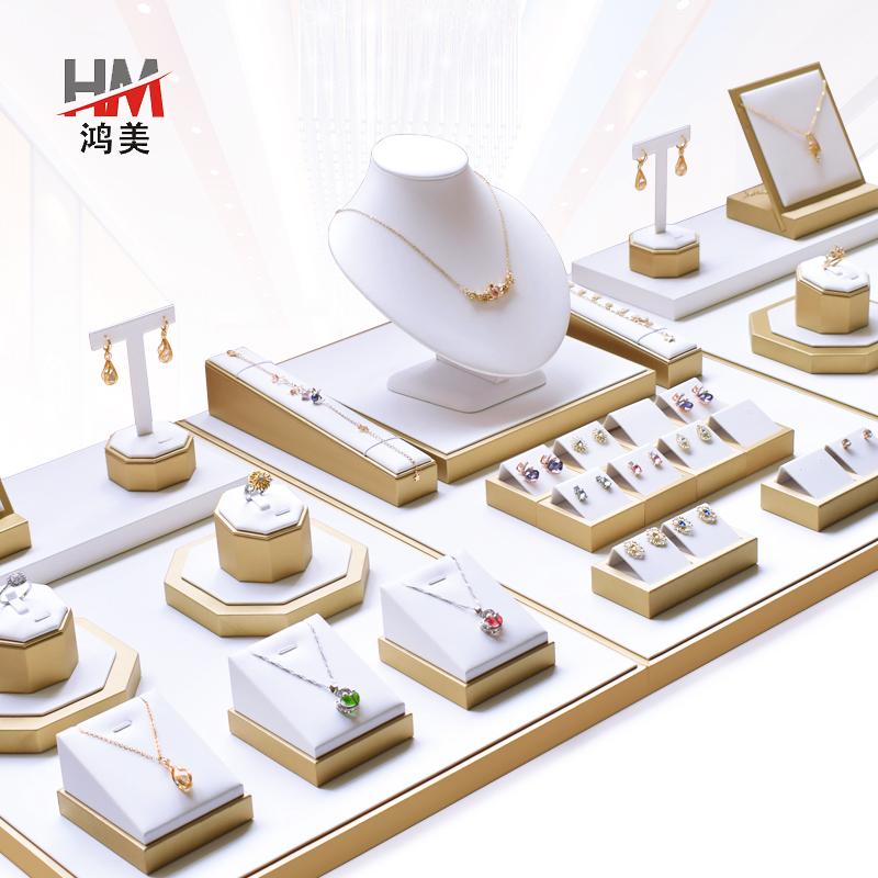 ジュエリー展示アイテム玉器翡翠のブレスレットペンダント指輪首飾り陳列トレーピアスネックレス展示棚