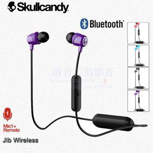 新品Skullcandy  JIB WIRELESS骷髅头 蓝牙无线入耳式耳机重低音