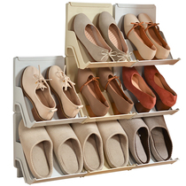 Shoe rack simple household can put high heels dormitory shoes storage rack vertical shoe bracket thickening