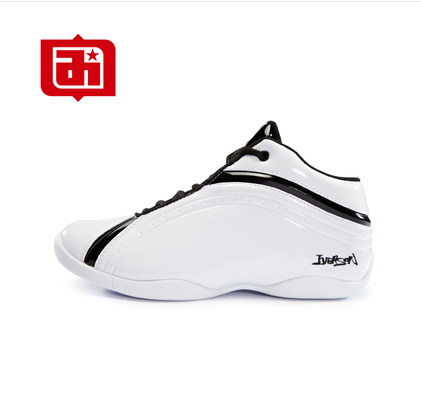 Iverson basketball shoes mens low top Tai Chi mandarin duck shoes wear resistant student sports shoes autumn and winter boots cement