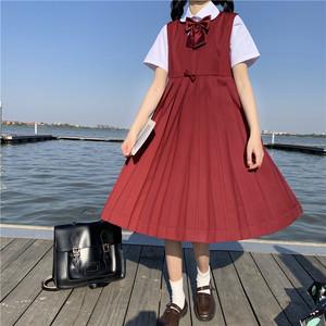 原创正版jk不良长裙2020年夏季日系学院风少女甜美可爱正统水手服