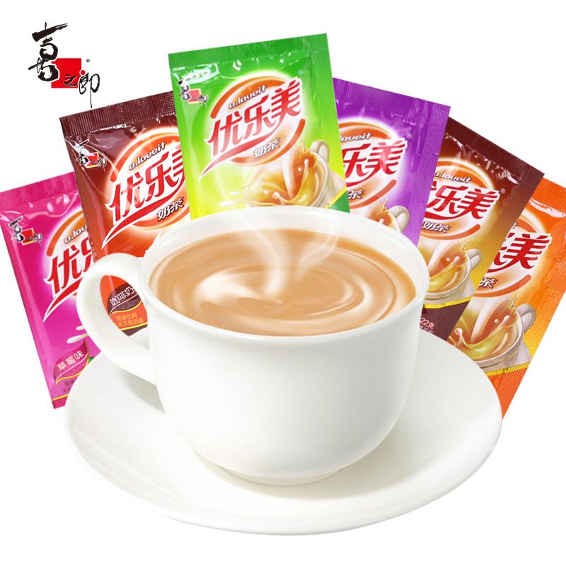 优乐美奶茶袋装麦香草莓味22g*50包整箱速溶奶茶粉咖啡原料