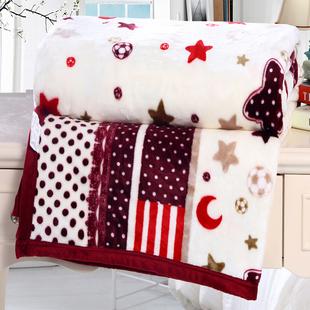 冬季珊瑚绒毯子加厚加绒保暖床单学生铺床办公室盖毯法兰绒小毛毯