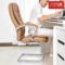 八九间弓形电脑椅老板椅真皮办公椅子 可躺靠背座椅 家用舒适久坐