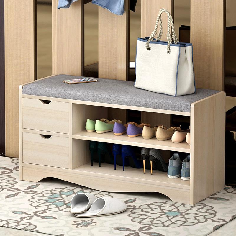经济型鞋架家用鞋柜进门口可坐换鞋凳室内好看简易收纳架子省空间