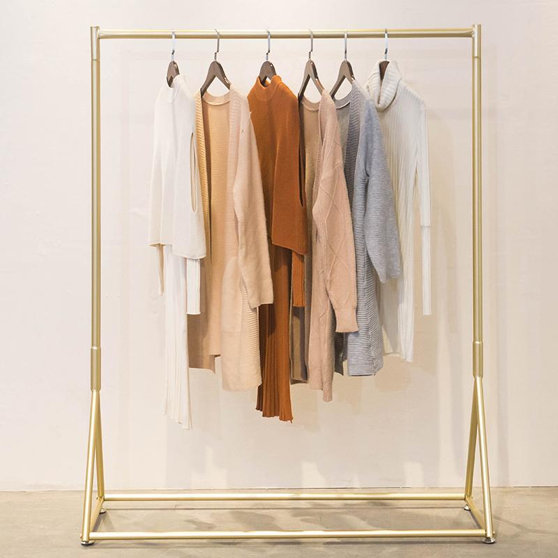 服装店展示架上墙壁挂衣服龙门货架满150.00元可用1元优惠券