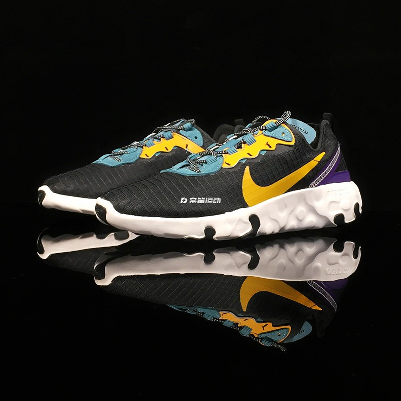耐克Nike React Element 55 高桥盾男女透气跑步鞋 CU0851 CD2153图片