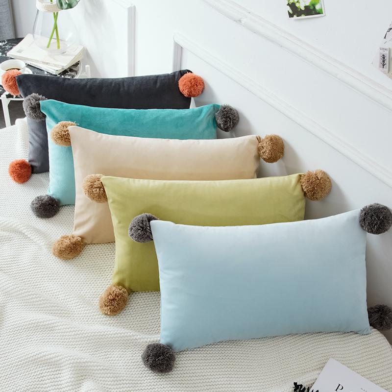 满41.67元可用16.67元优惠券ins风抱枕套长方形沙发长条腰枕