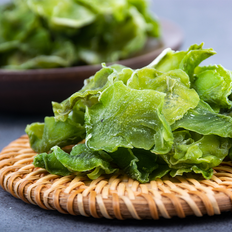 Dried lettuce, dehydrated vegetables, dried vegetables, farmhouse made dried vegetables, specialty fresh and high-quality lettuce, dried rice