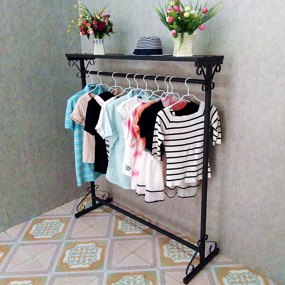 Вешалка весить одежду полка этаж турник стиль спальня хранение творческий легко одежда полка воздуха велогонка полка находятся полка в