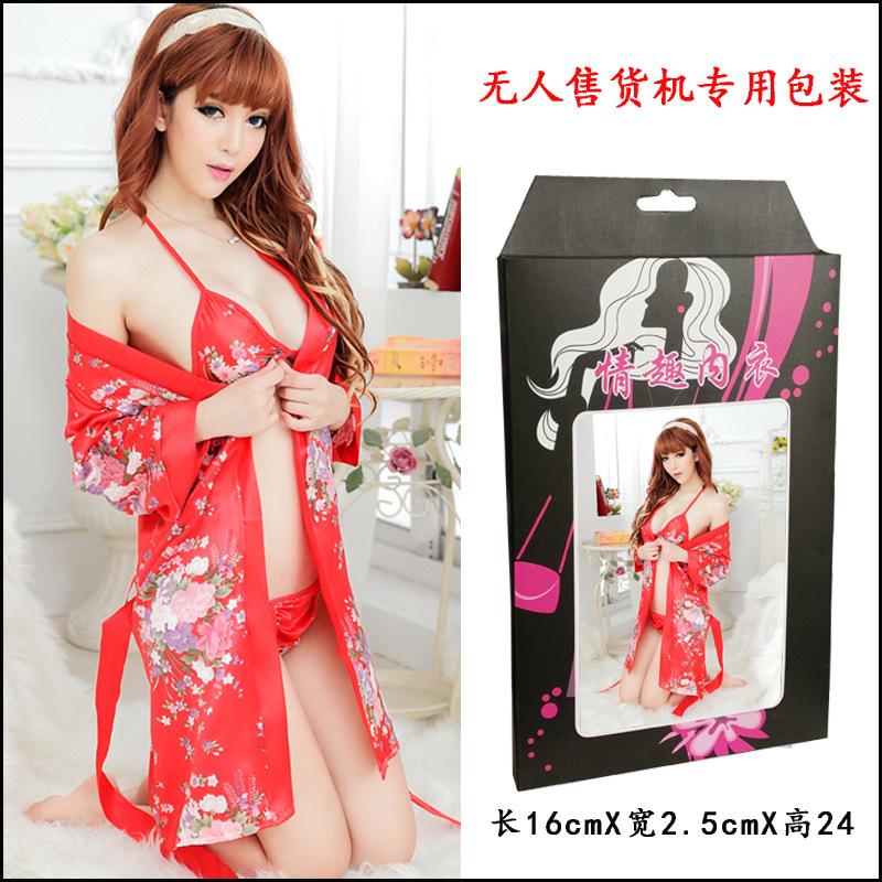 无人售货机专卖情趣内衣美女性感套裙睡衣蕾丝透视装J455