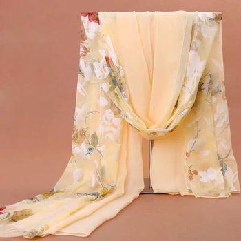 杭州冬季长款雪纺韩版沙巾沙滩巾
