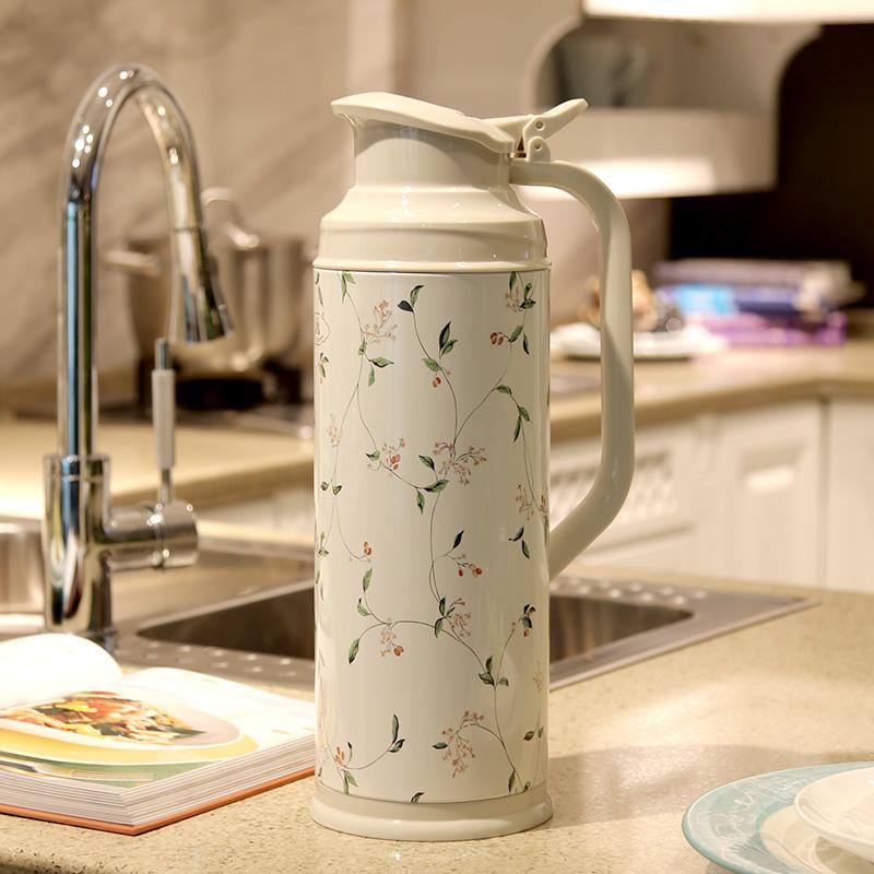 家用熱水瓶暖瓶保溫壺大容量暖壺結婚保溫瓶學生開水瓶玻璃真空2L