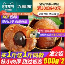 桂圆买1送1共500g2袋新货桂圆干福建特产龙眼干货桂圆肉非无核