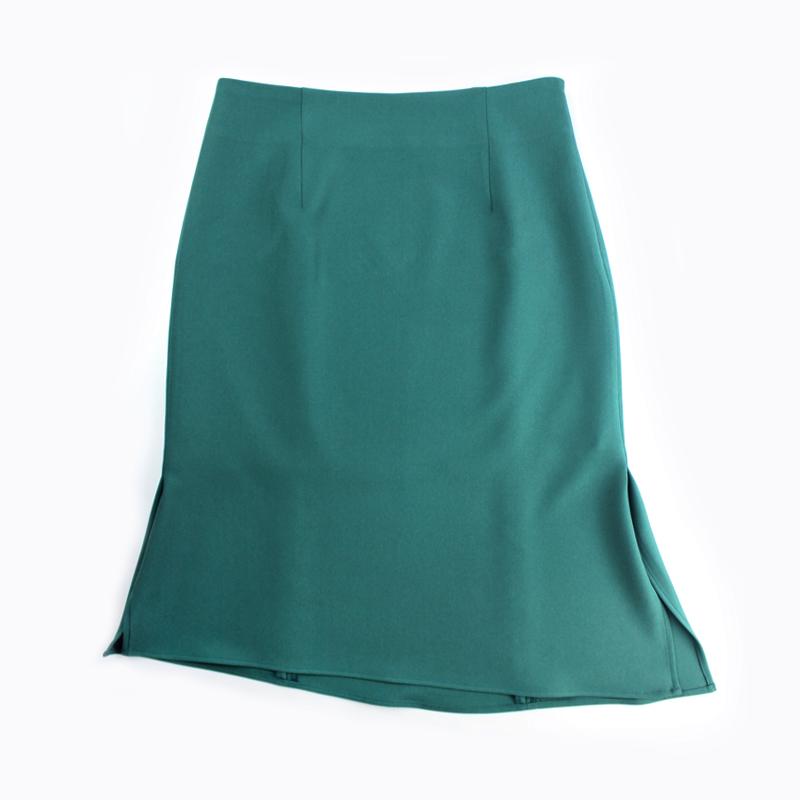 半身裙女春夏季中长款a字裙高腰包臀裙通勤裙子不规则职业西装裙