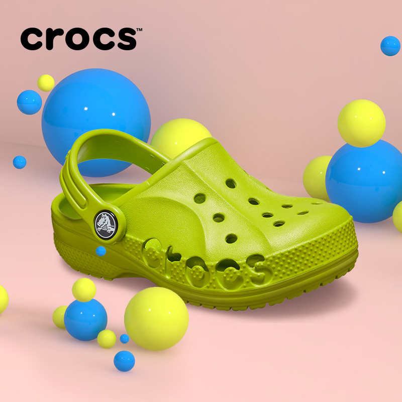 Crocs children's shoes boys' and girls' summer sandals karochi children's slippers beach baby hole shoes 205483